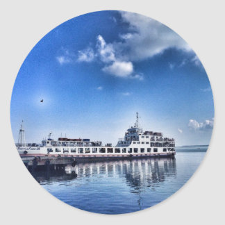 RoRo Travels in The hidden Island  of Philippines Classic Round Sticker