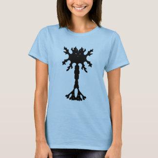 Rorscach Inkblot Neuron Ladies T-shirt