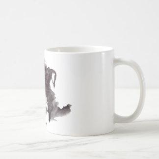 Rorschach Blot 4 Basic White Mug