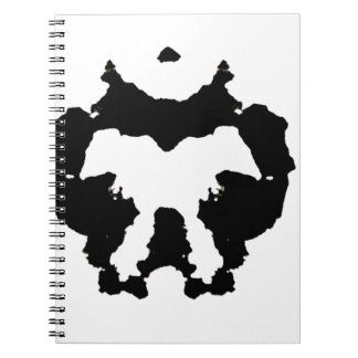 Rorschach inkblot5 notebooks