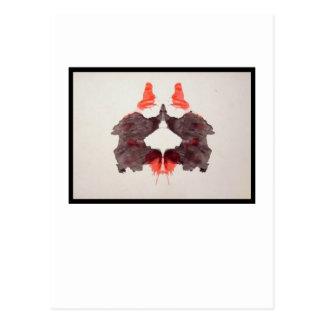 Rorschach Inkblot 2.0 Postcard