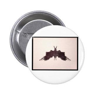 Rorschach Inkblot 5.0 2 Inch Round Button