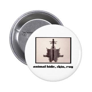 Rorschach Inkblot 6 Pinback Buttons