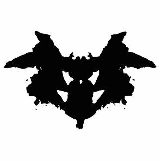 Rorschach Inkblot Photo Sculpture