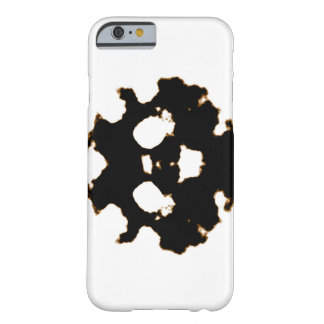 Rorschach Test of an Ink Blot Card in Black and Wh Barely There iPhone 6 Case