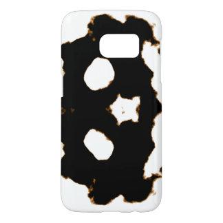 Rorschach Test of an Ink Blot Card in Black Samsung Galaxy S7 Case