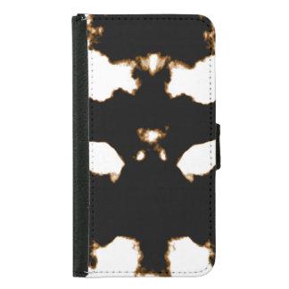 Rorschach Test of an Ink Blot Card on White Samsung Galaxy S5 Wallet Case