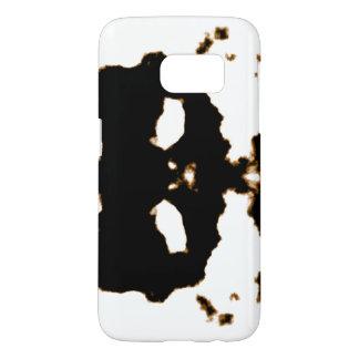 Rorschach Test of an Ink Blot Card on White Samsung Galaxy S7 Case