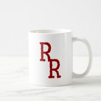 Rorshach Recordings (Red RR & Red LP) Coffee Mug