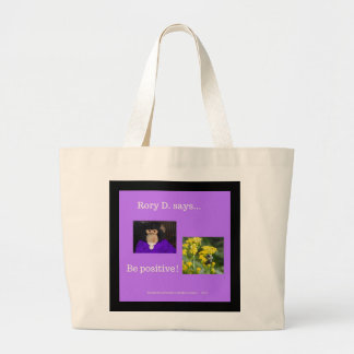 Rory D Collection Be Positive Jumbo Tote