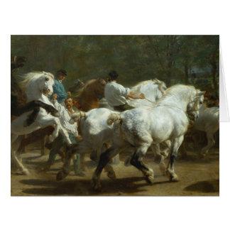 Rosa Bonheur: The Horse Fair Greeting Card