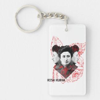 Rosa Rubra Keychain