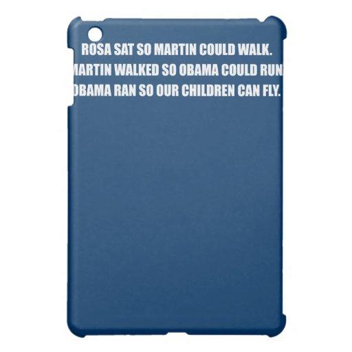 ROSA SAT SO MARTIN COULD WALK.png iPad Mini Case