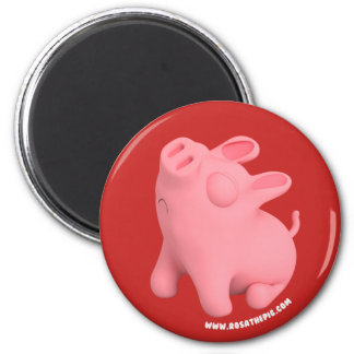 Rosa the Pig are Sno Magnet