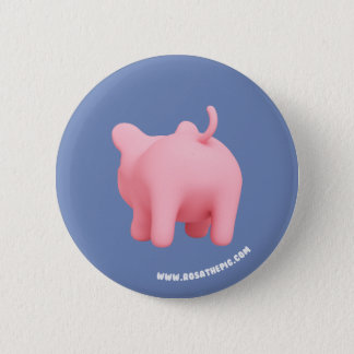 Rosa the Pig shakes butt 2 Inch Round Button