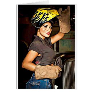 Rosa-the-welder Card