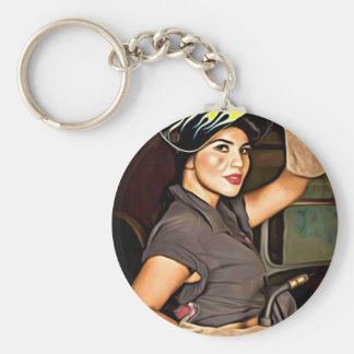Rosa-the-welder Keychain