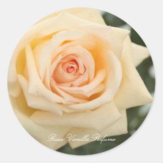 Rosa Vanilla Perfume Round Sticker
