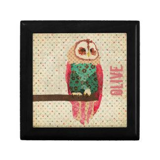 Rosa Vintage Owl Gift Box