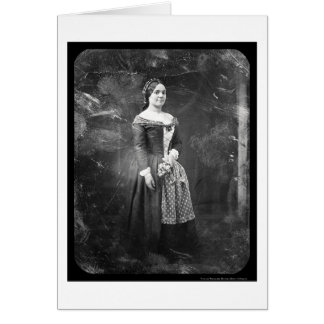 Rosalie Laborde Opera Daguerreotype 1845 Card