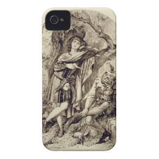 Rosalind and Touchstone, Act III Scene 2, in As Yo iPhone 4 Case-Mate Case