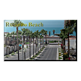 Rosarito Mexico Beach Poster