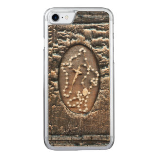 Rosary Carved iPhone 7 Case