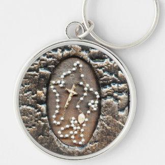 Rosary Keychain