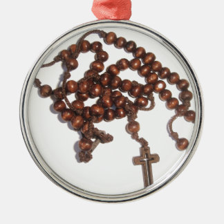 Rosary Metal Ornament