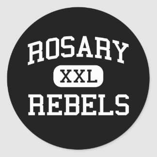 Rosary - Rebels - High - Saint Louis Missouri Stickers