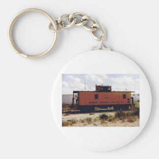 Roscoe, Snyder and Pacific Basic Round Button Keychain