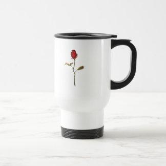Rose 15 Oz Stainless Steel Travel Mug