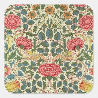 'Rose', 1883 (printed cotton) Sticker