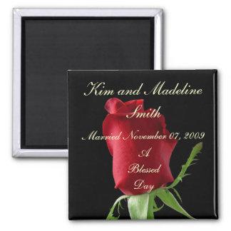 rose_1_bg_030703, Kim and MadelineSmith, Marrie... Magnet