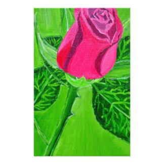Rose 1a stationery