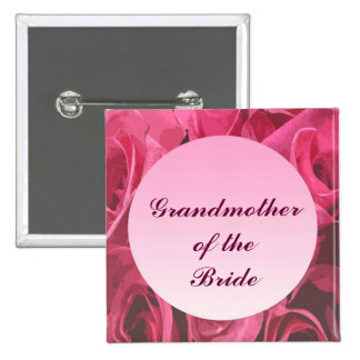 Rose Abstract Grandmother of the Bride Pin