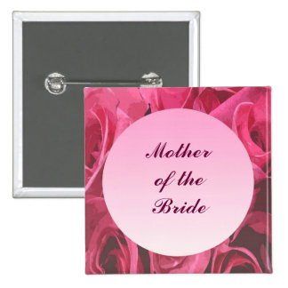 Rose Abstract Mother of the Bride Pin