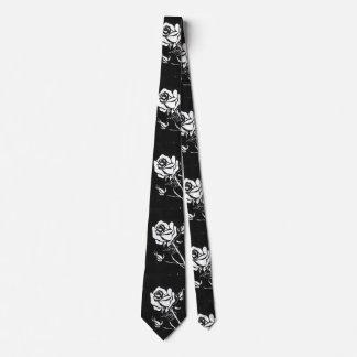 """""""Rose Alba"""" Flower Garden Neck Tie"""