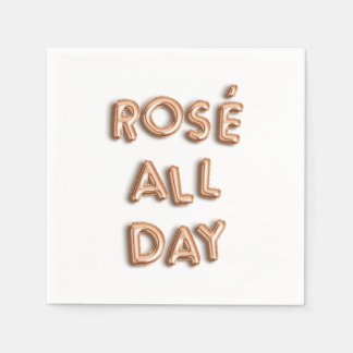 Rosé All Day Paper Napkin