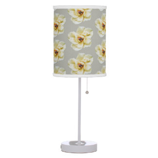 Rose and Bee Table Lamp