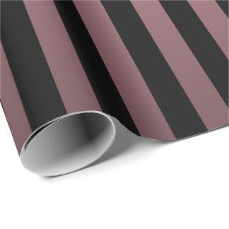 Rose and Black Stripes