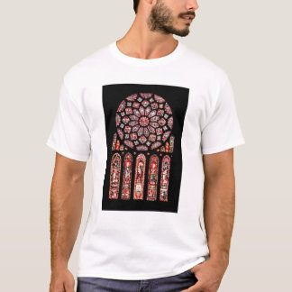 Rose and lancet windows from the north wall T-Shirt