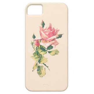 Rose and Rosebud iPhone 5 Cover