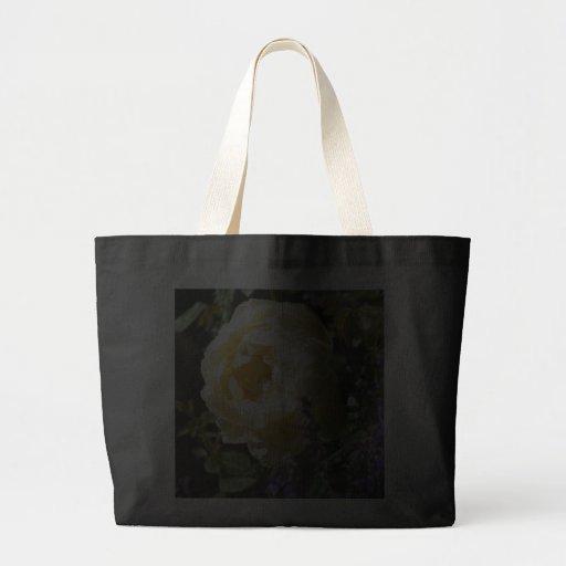 Rose and Salvia Canvas Bag