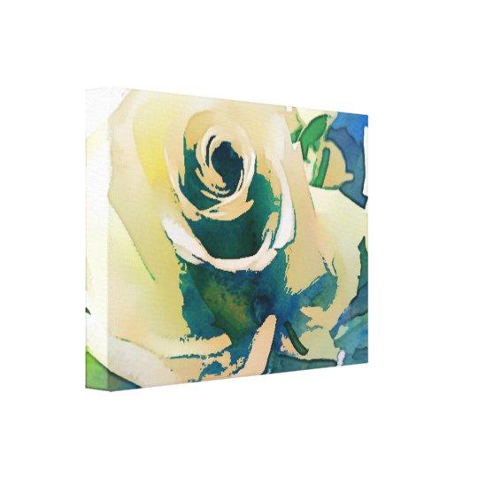 Rose Art Canvas Print