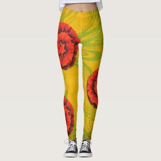 Rose Art Leggings