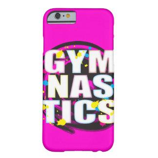 Rose artistique de peinture de gymnastique coque iPhone 6 barely there
