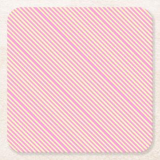 Rose Avenue Square Paper Coaster