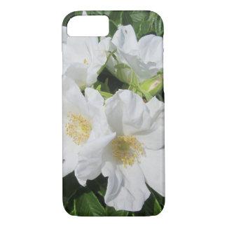 Rose Beach Plum White iPhone 7 Case