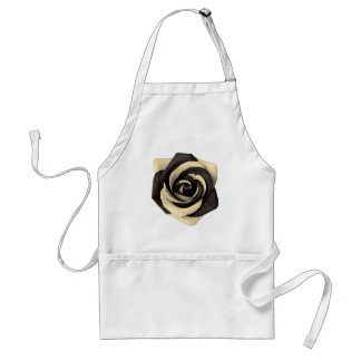 Rose Black Standard Apron